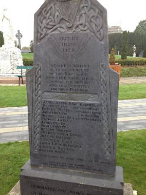 James Daly Cenotaph Dublin Ireland