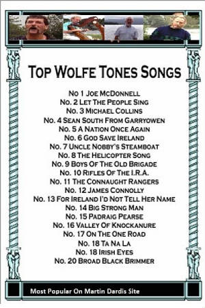 Wolfe Tones Top 20 Songs