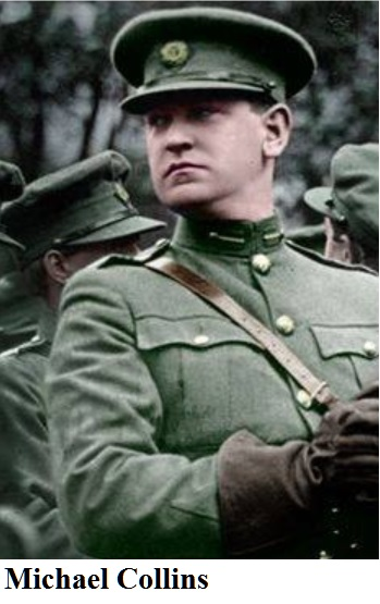 Michael Collins Badge