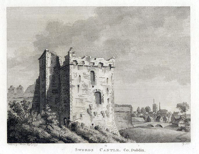 Swords Castle 1792