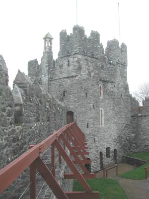 Swords Castle West Side