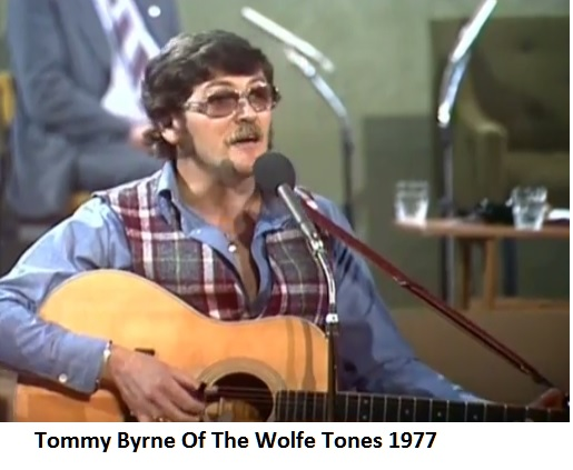 Tommy Byrne Of The Wolfe Tones