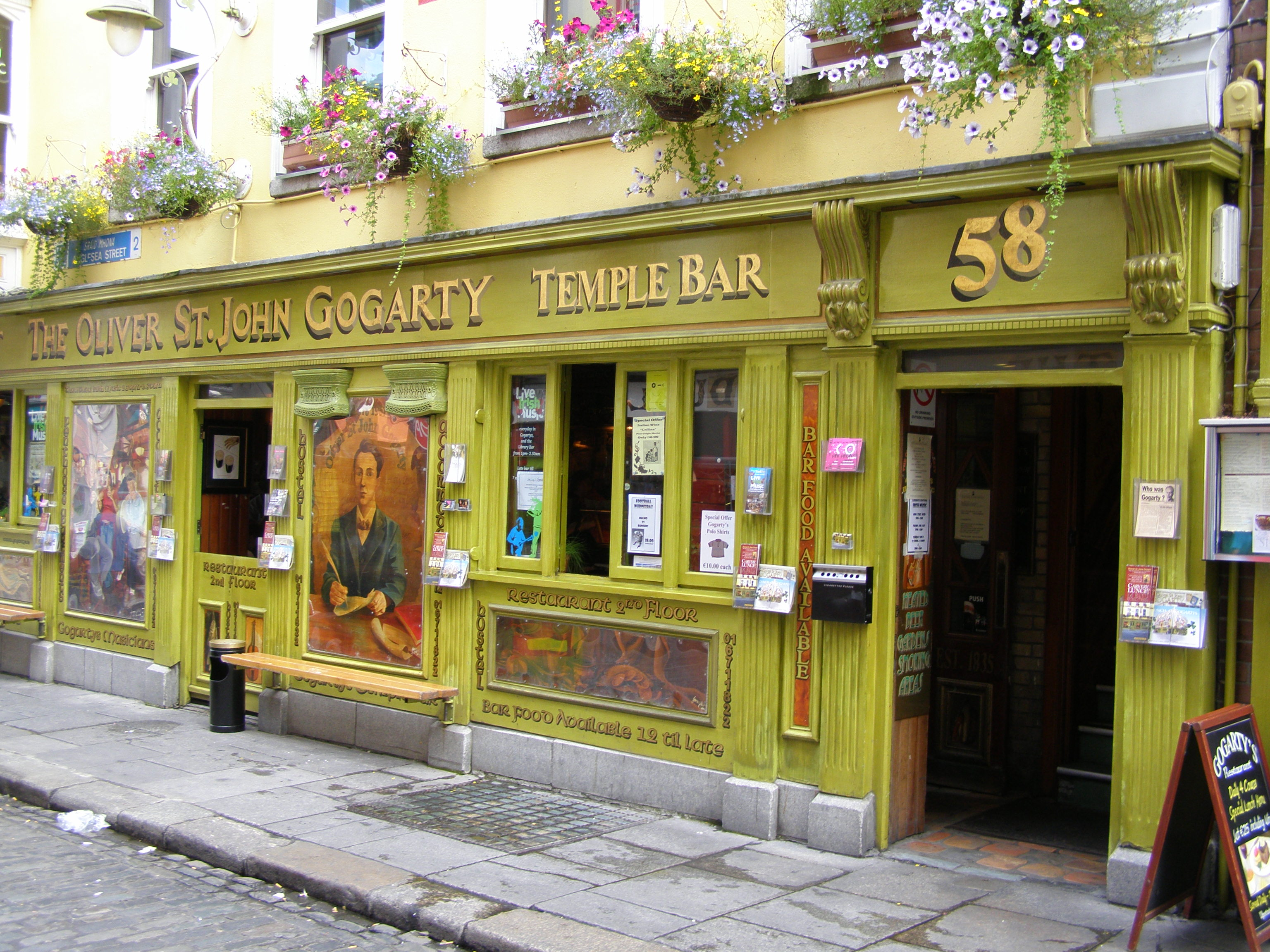 Oliver St. John Gogarty Pub TEMPLE Bar Dublin Ireland